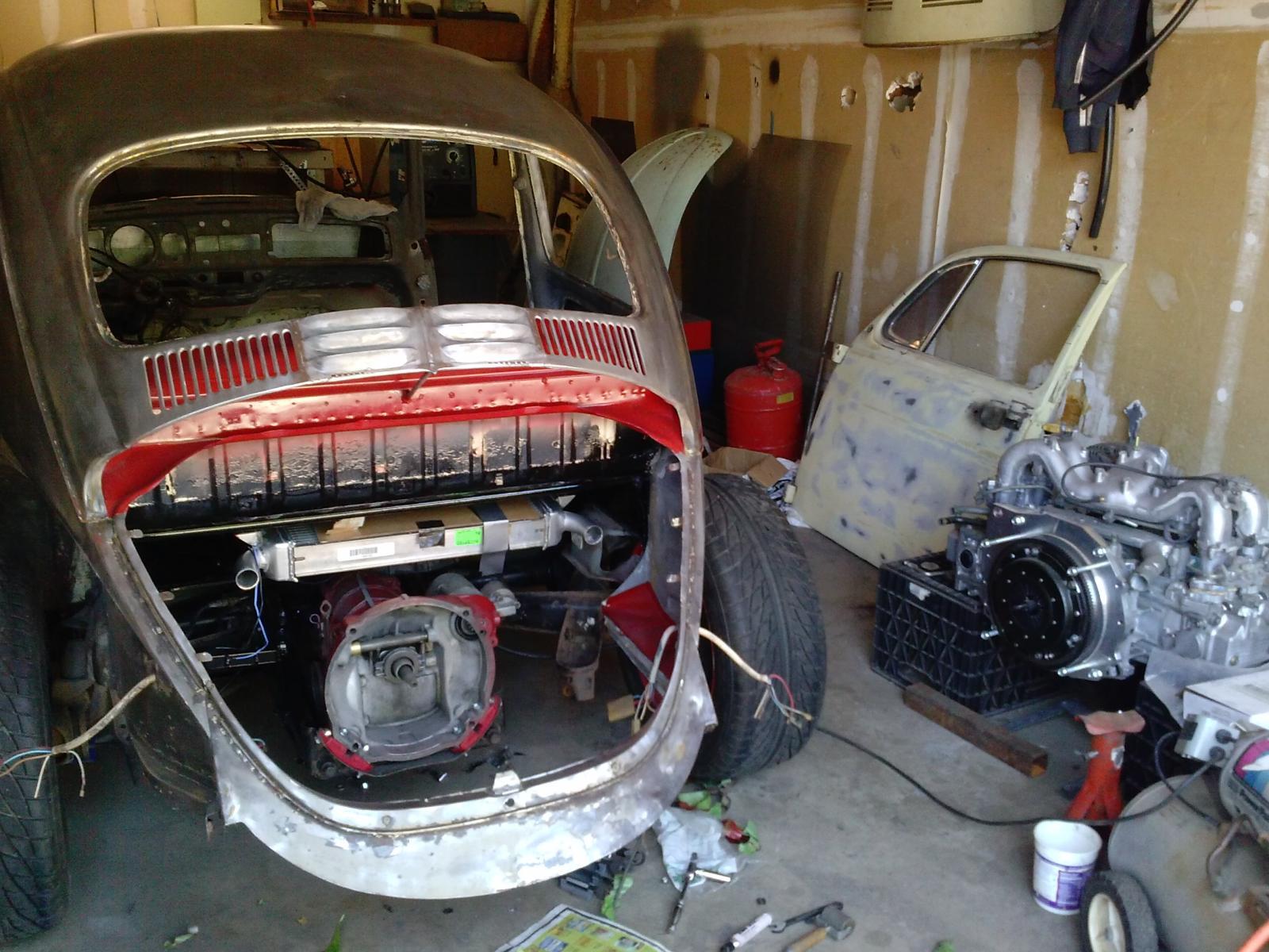 Subaru Conversion Kit For Vw Bug