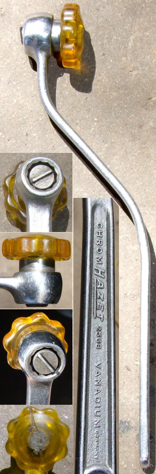 Hazet 2568 valve adjustment tool - more common version
