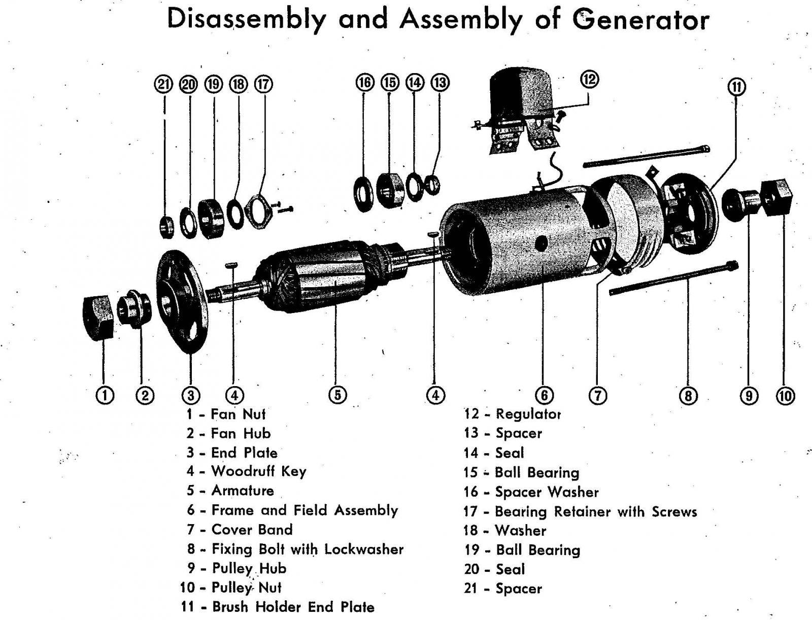 vw 12v generator wiring diagram part