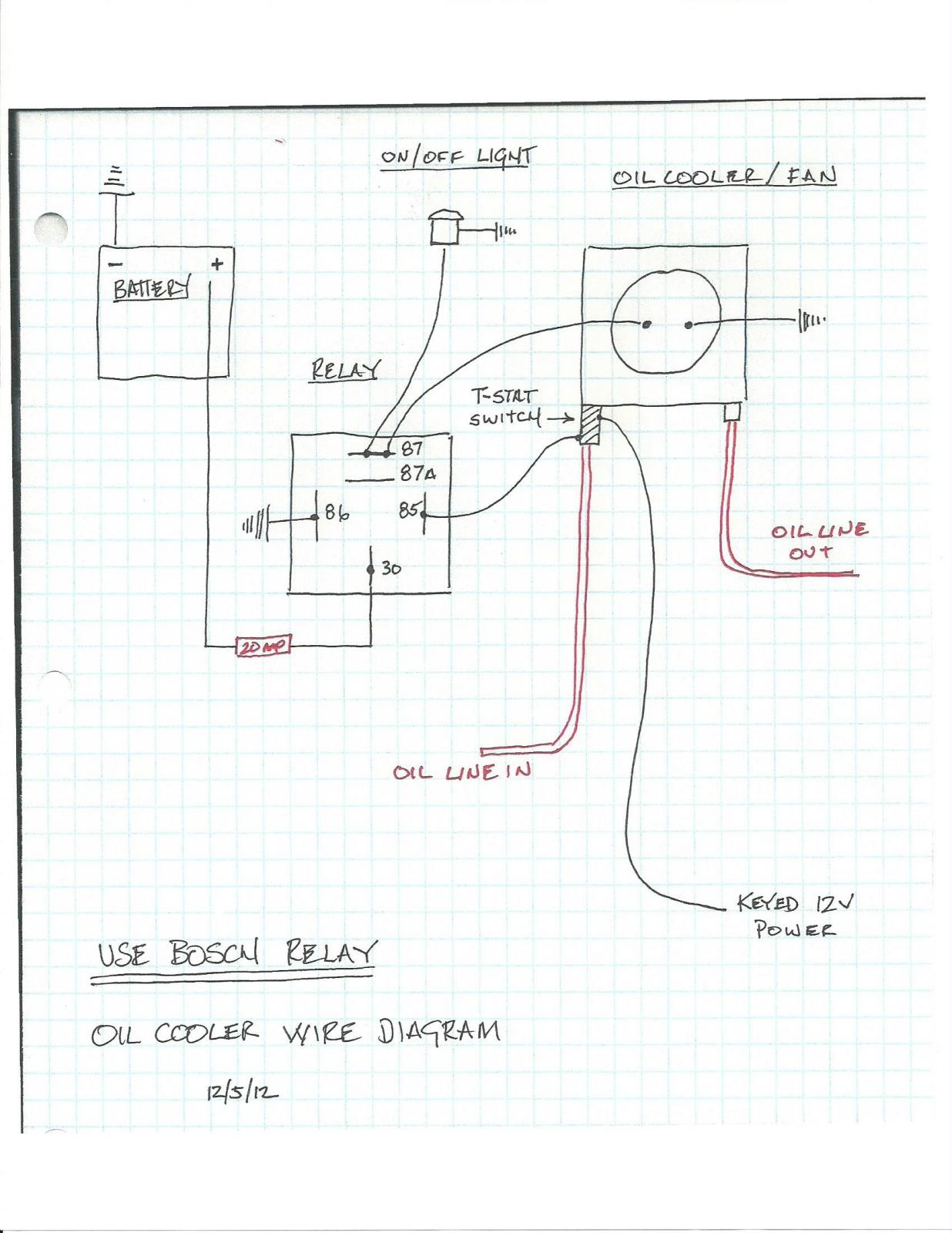 [SCHEMATICS_4FD]  TheSamba.com :: Performance/Engines/Transmissions - View topic - Location  of inline Oil Temp Fan Switch | Derale Oil Cooler Wiring Diagram |  | The Samba