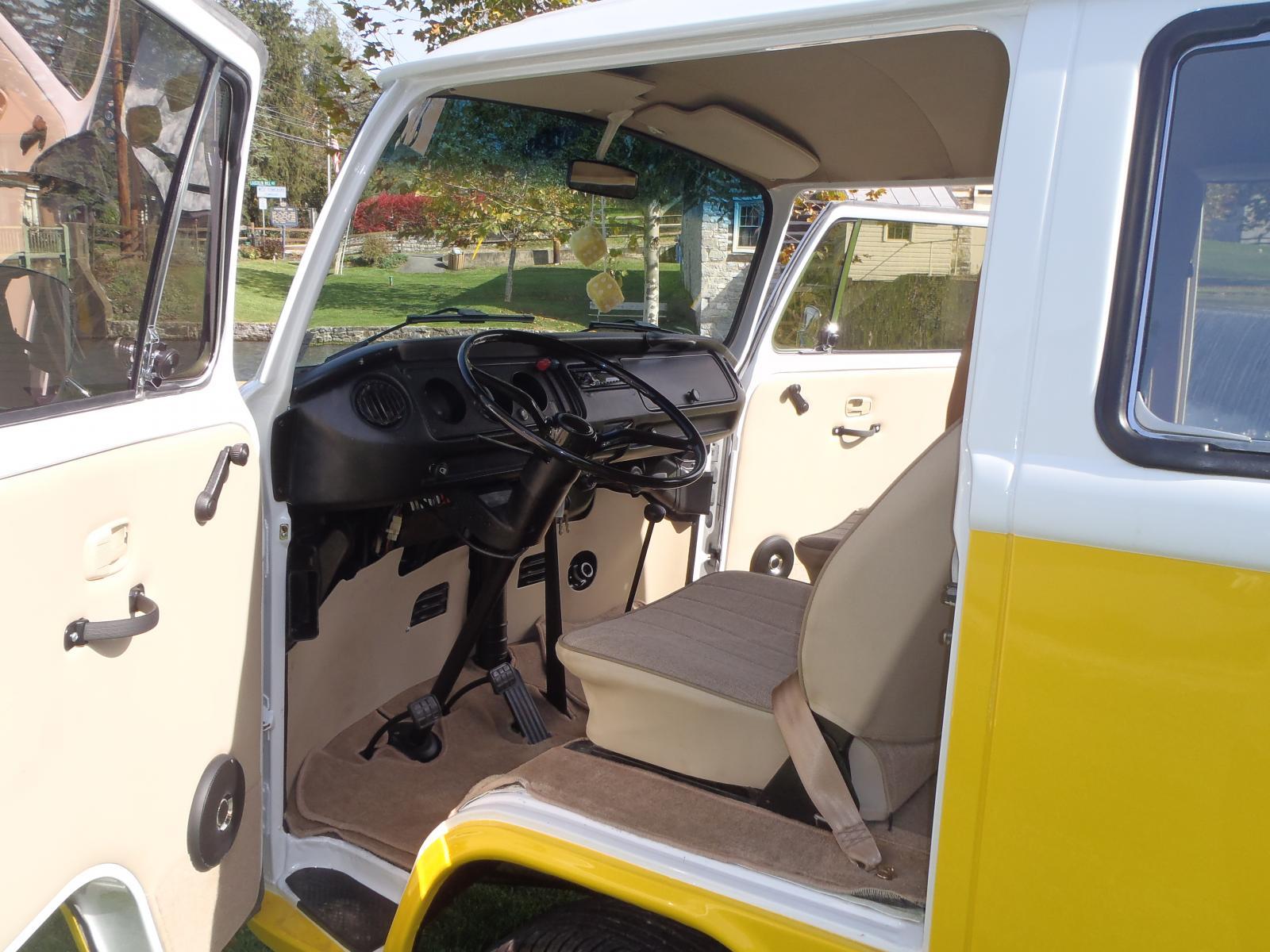1977 VW Type II Bus built by Carlisle Customs & Classics