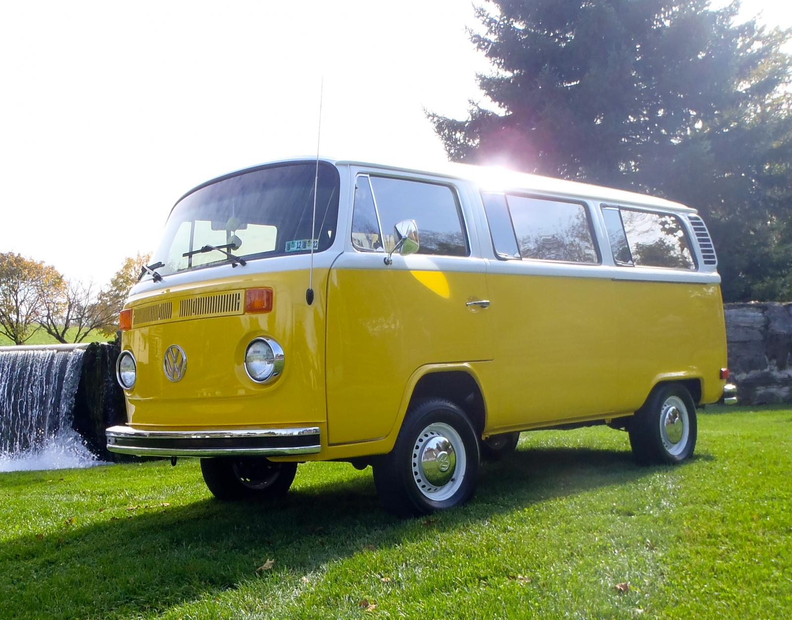 1977 VW Type II Bus built by Carlisle Customs & Classics