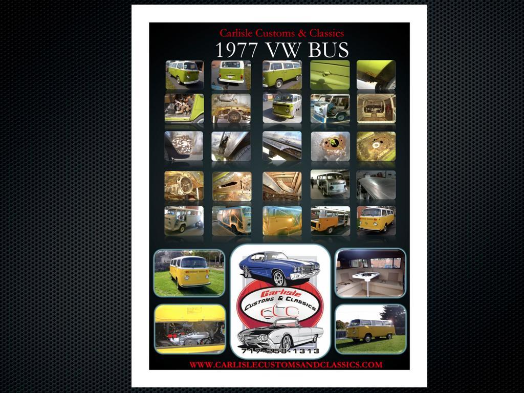 1977 Volkswagen Type II Bus Custom