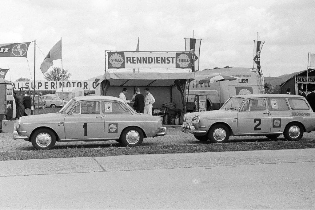 Shell Renndienst - Salzburg / Austria 1964