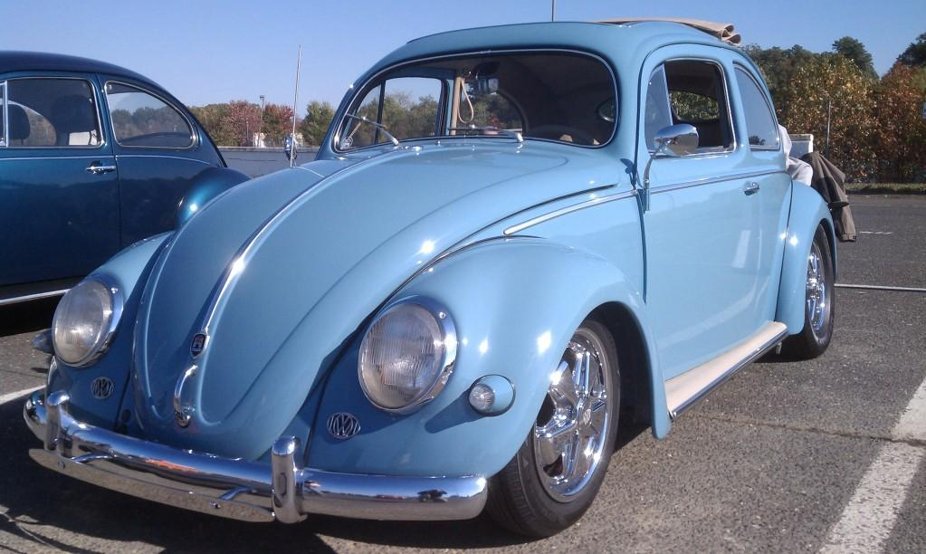 '57 Beetle at Englishtown Show and Go Fall 2013
