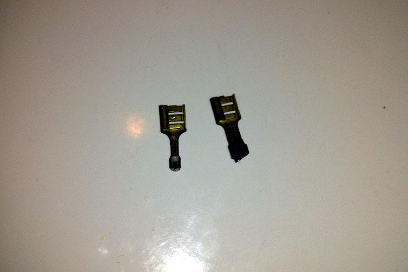 Broken Electrical connectors