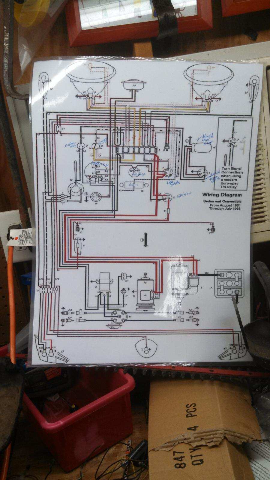 Kraco Power Booster Wire Diagram 32 Wiring Images Acoustik Equalizer Diagrams 1135743 Thesamba Com Beetle Late Model Super 1968 Up View Topic Brake Vacuum At