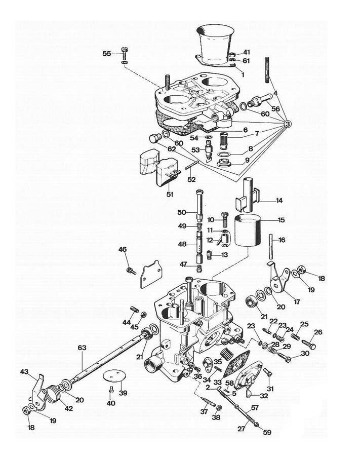 vw carb diagram