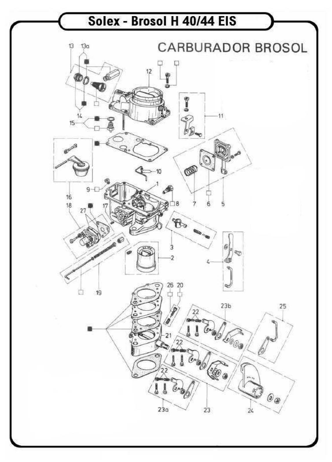 Volkswagen Solex Carburetor Diagram Wiring Diagrams