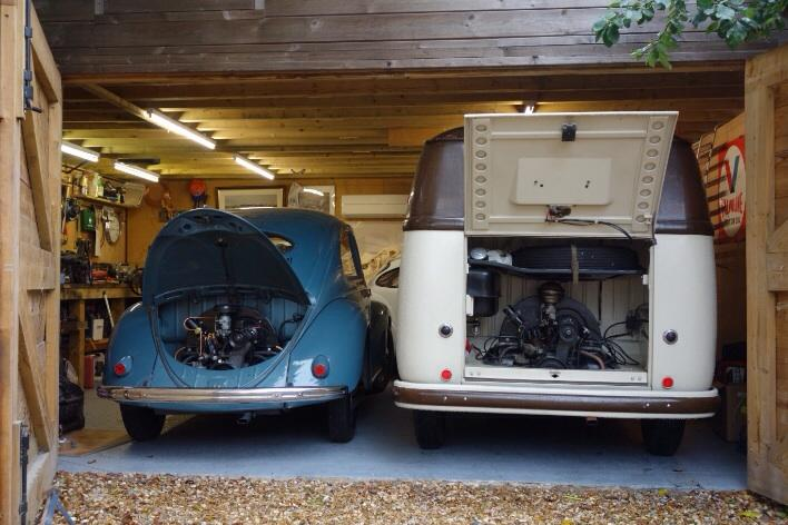 My 54 BD and 51 Beetle