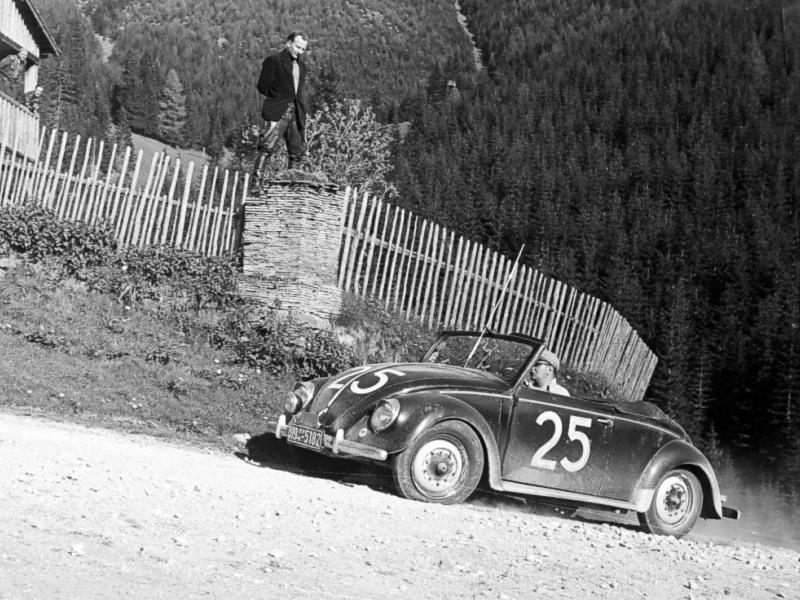 Hebmüller raced up the hill