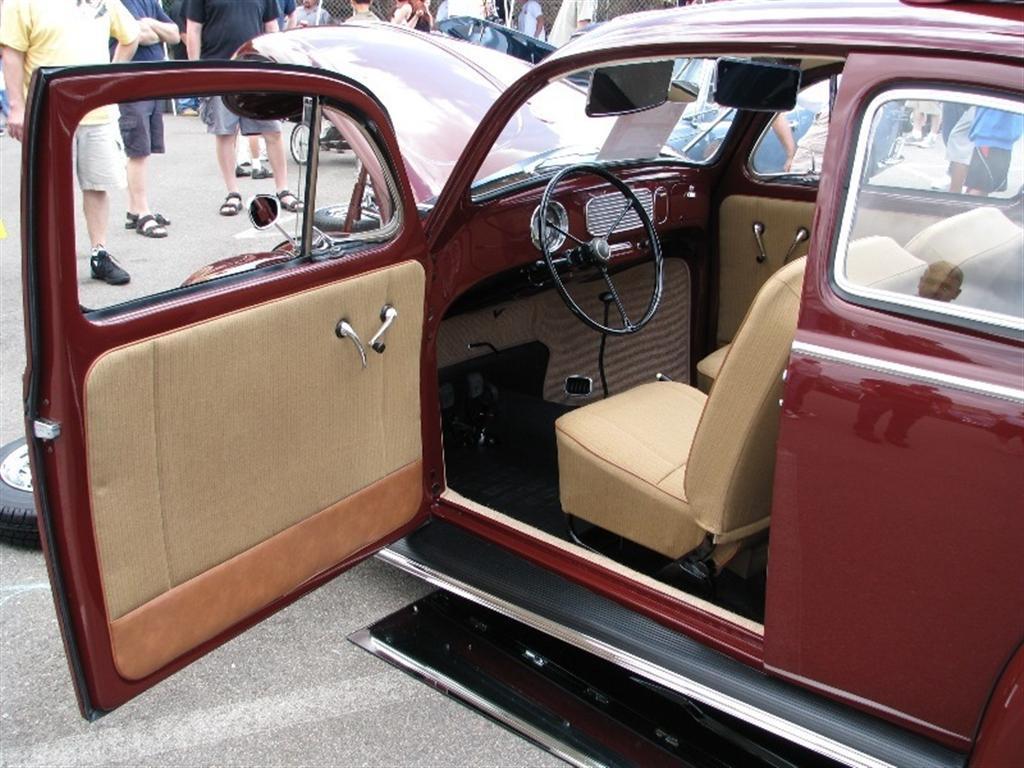 ALERT Poison Berry '56 VW STOLEN