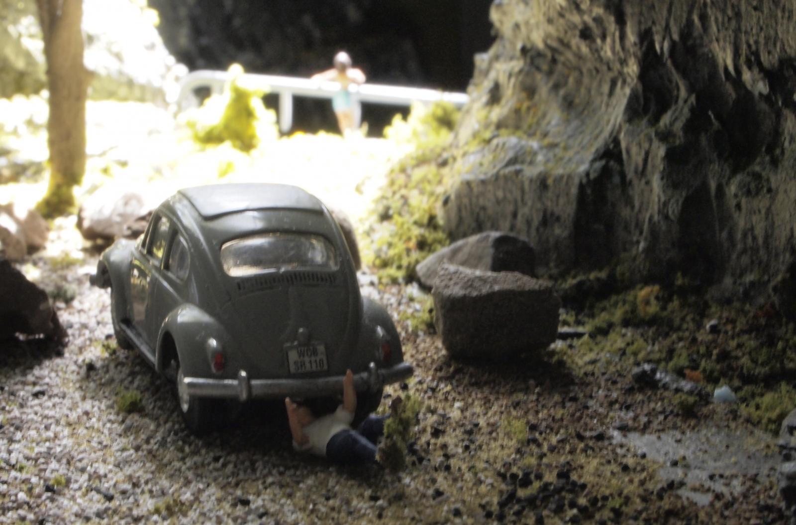 VW and Porsche HO scale slot cars
