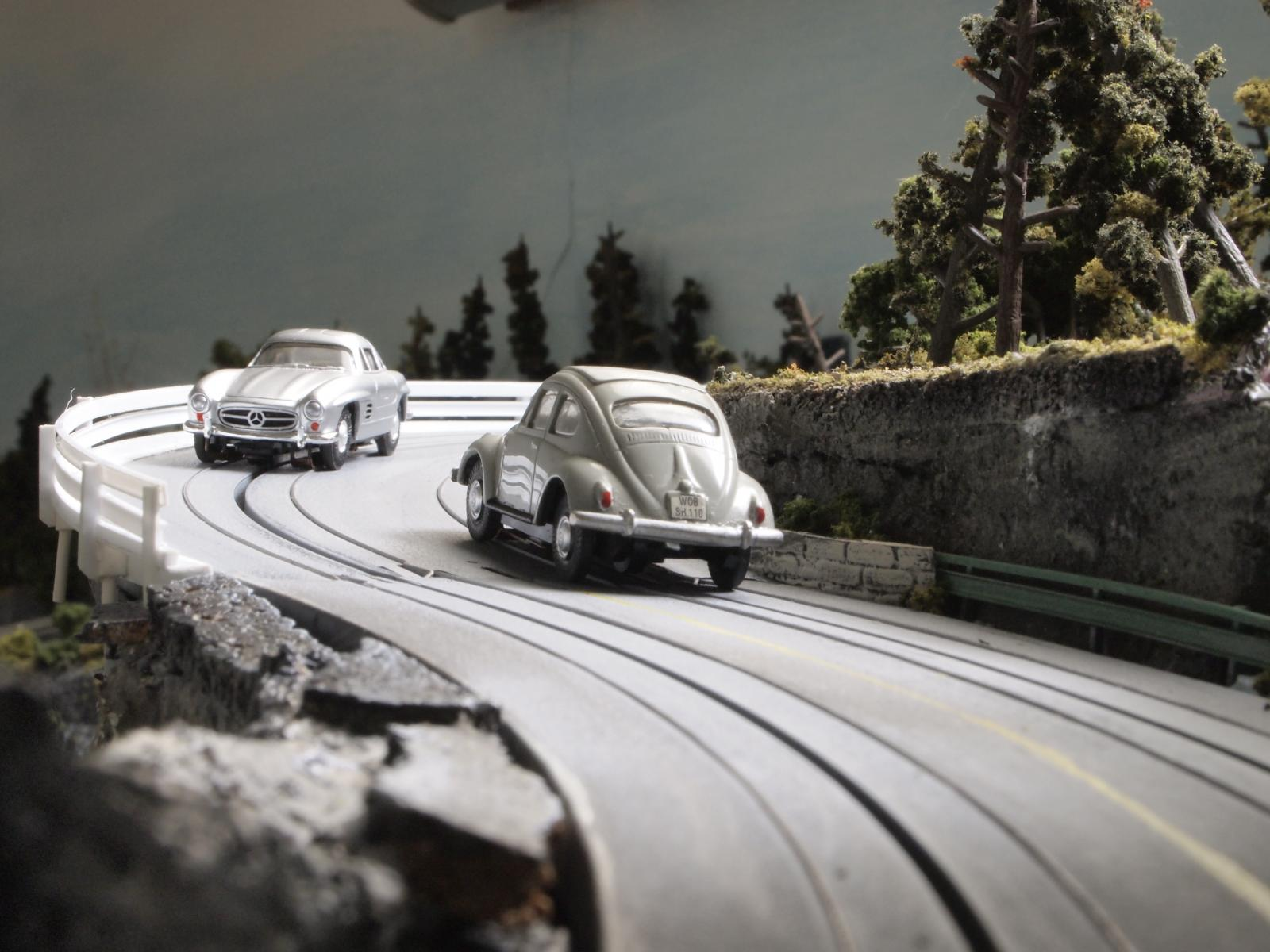 VW and Porsche HO scale slot cars