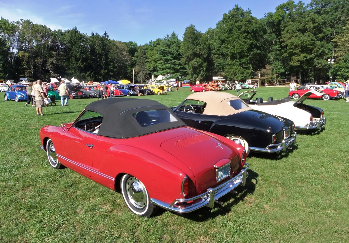 Ghia Convertibles at Flanders NJ Aircooled Gathering Sept. 2012
