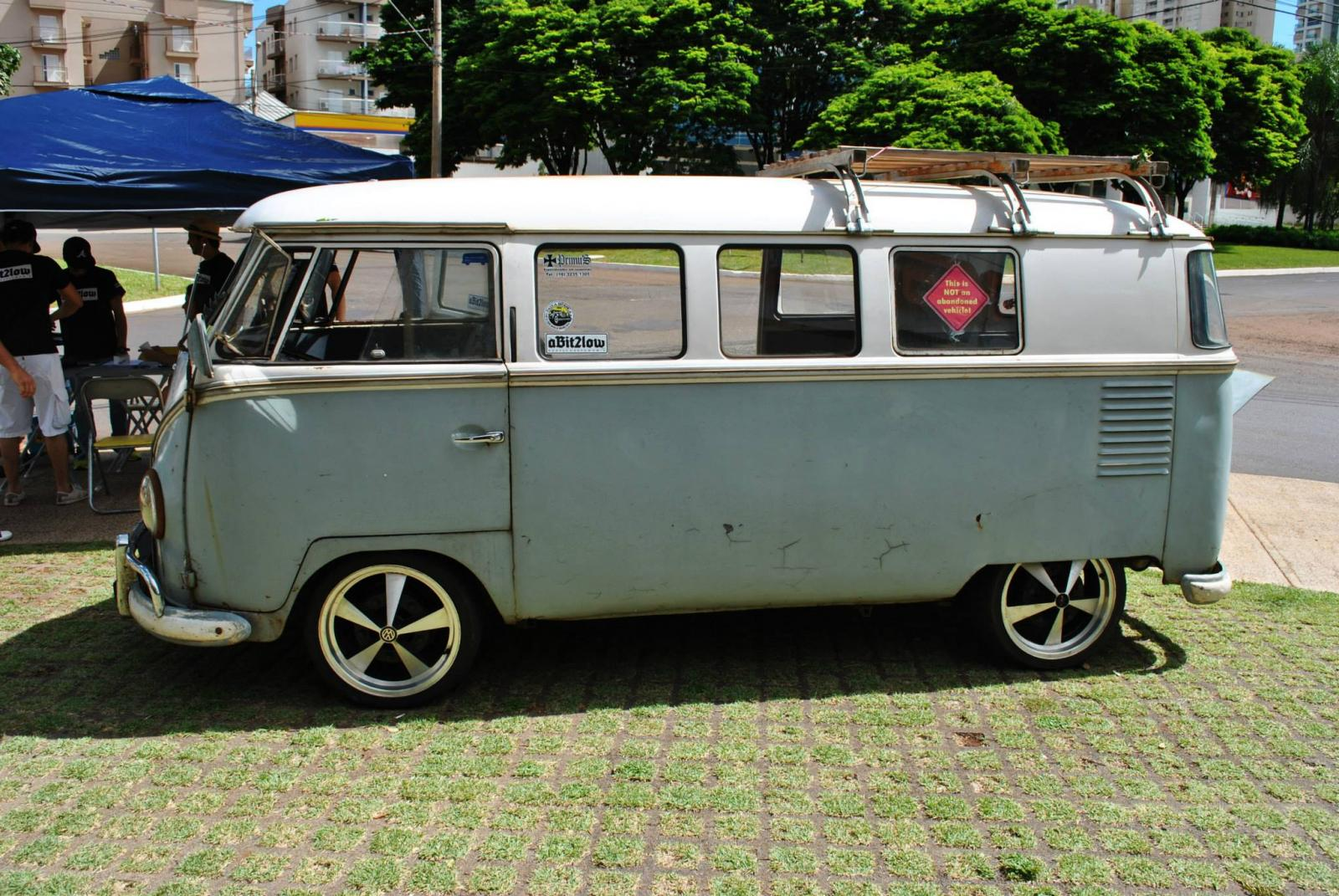 VW Kombi 1960, last year semaphore bus in Brazil