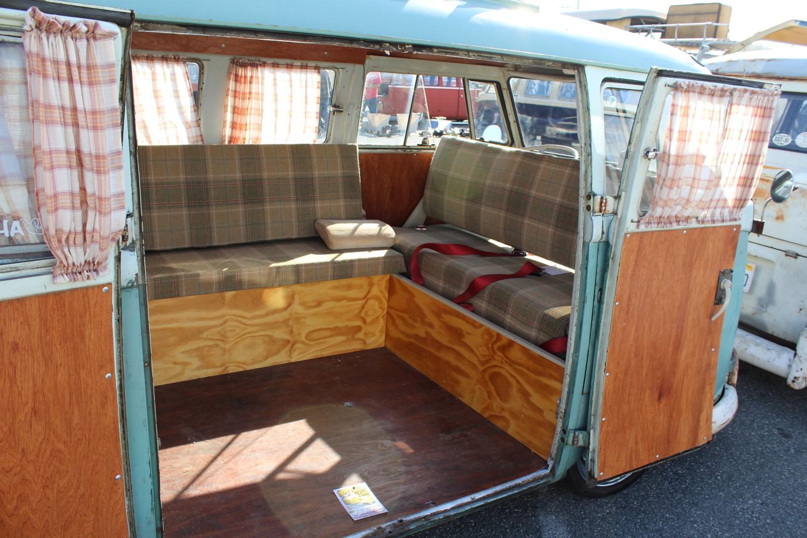 Flip Seat Camper Bus