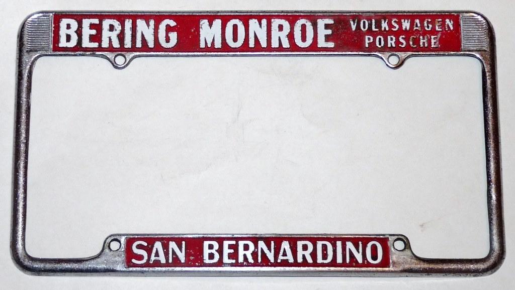 Bering Monroe, San Bernardino CA