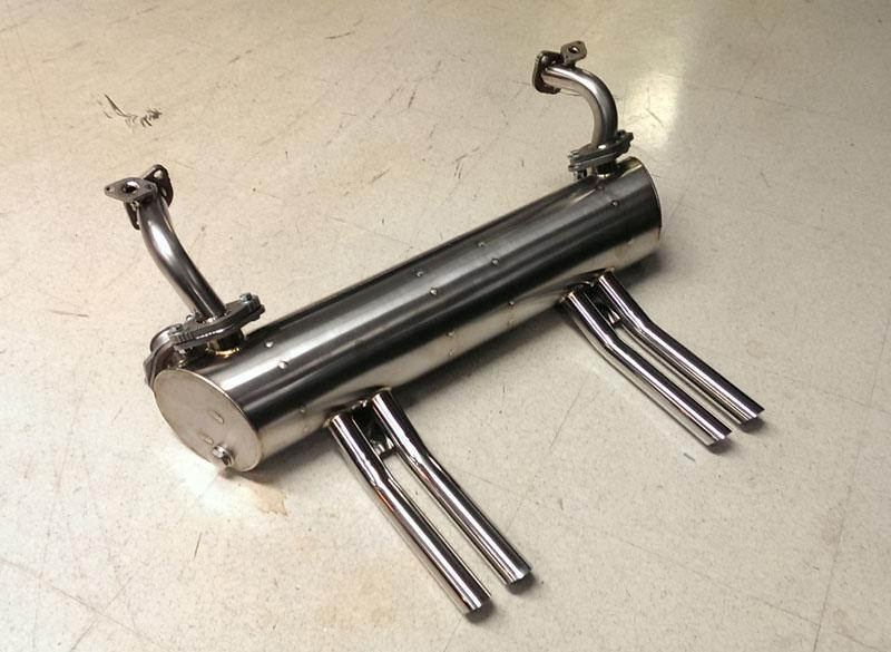 Vintage Speed Abarth Exhaust For A 40hp: Vw Abarth Exhaust At Woreks.co