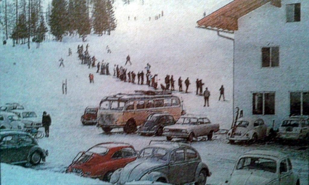 Ski Resort Zauchensee / Austria in the 60ies