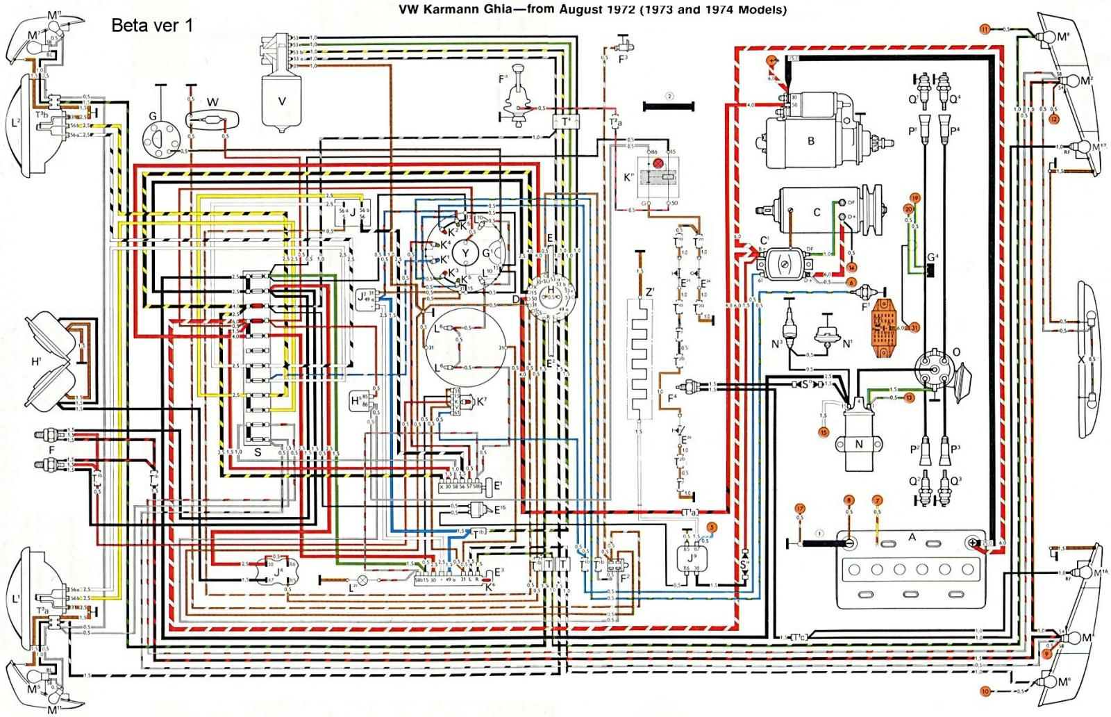 1188328 thesamba com ghia view topic 73 74 wiring diagram 74 karmann ghia wiring diagram at soozxer.org