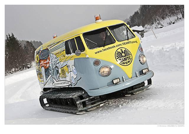 Raupen Bus