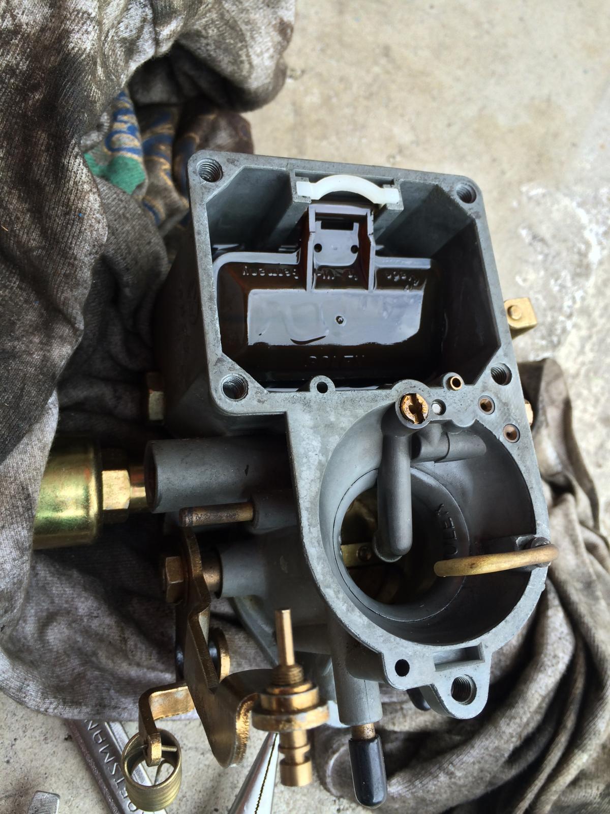TheSamba com :: Gallery - 34 pict 3 carburetor flooding