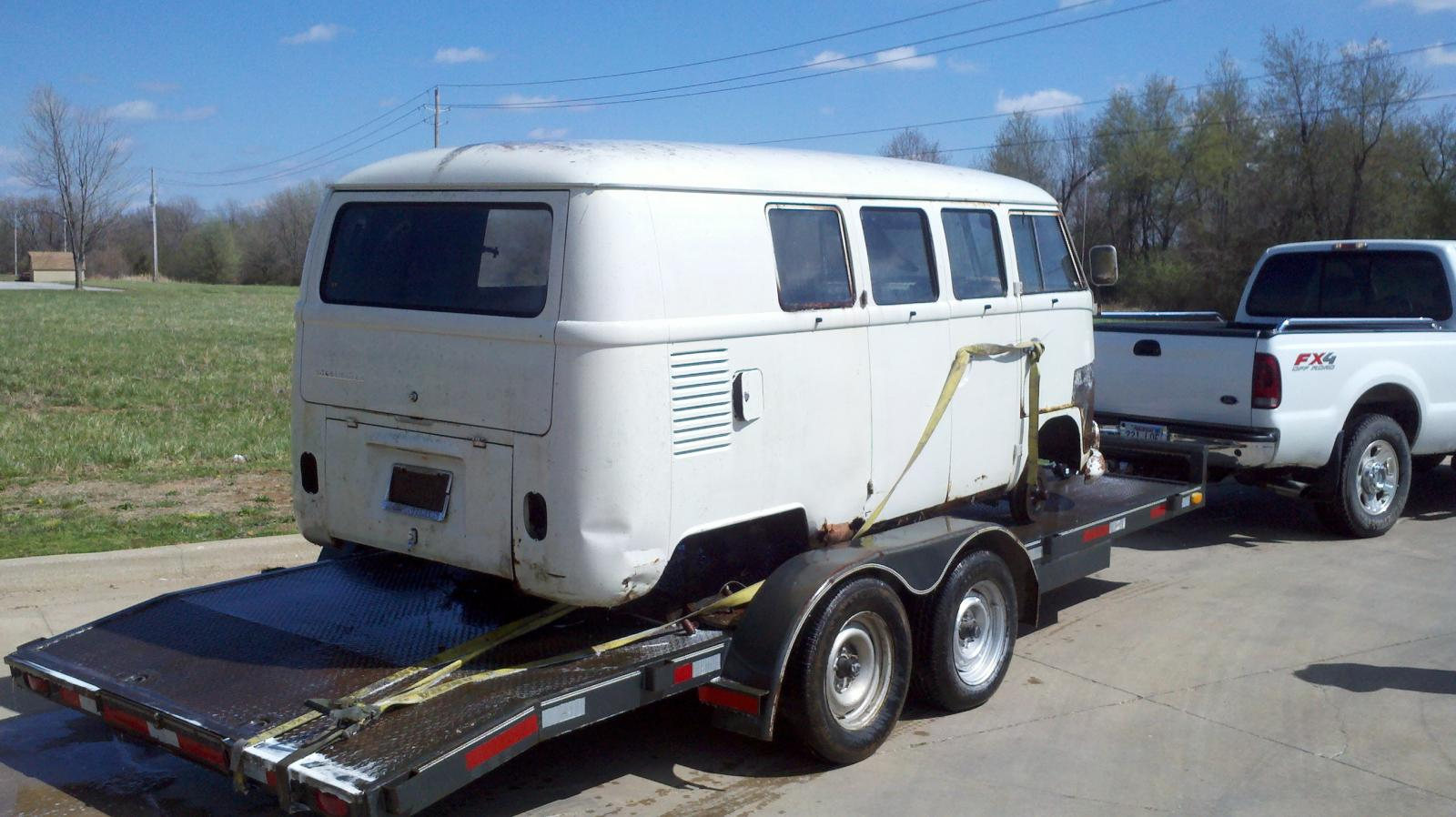 1966 kombi arkansas find