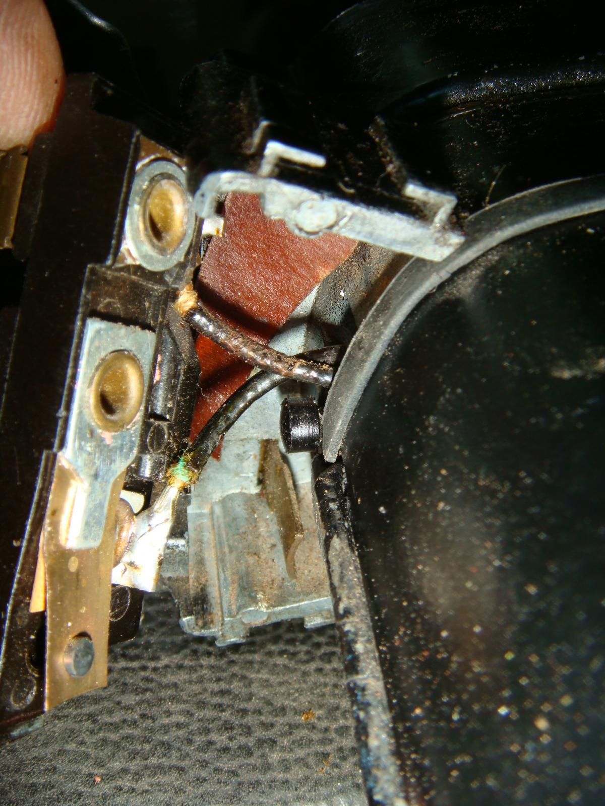 Thing wiper motor