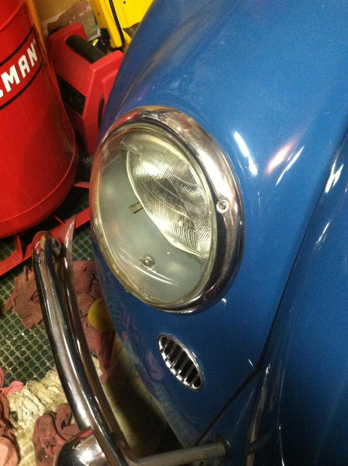 1966 Beetle Headlights