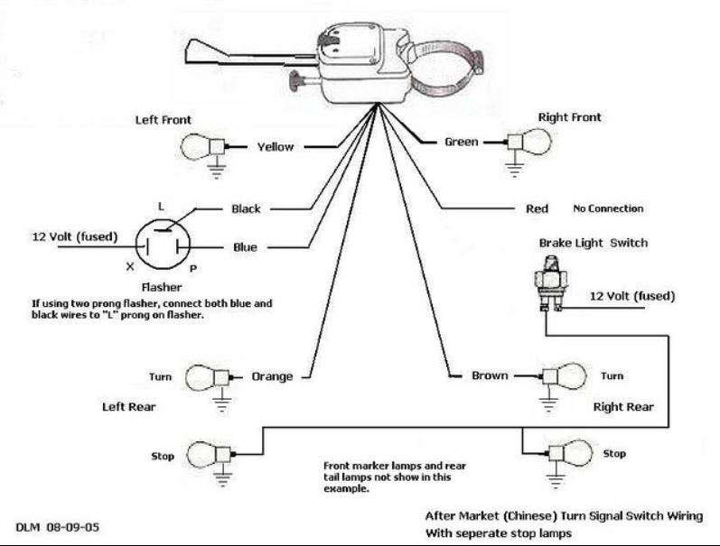 1211761 turn signal switch wiring diagram motorcycle turn signal wiring universal turn signal wiring diagram at bayanpartner.co