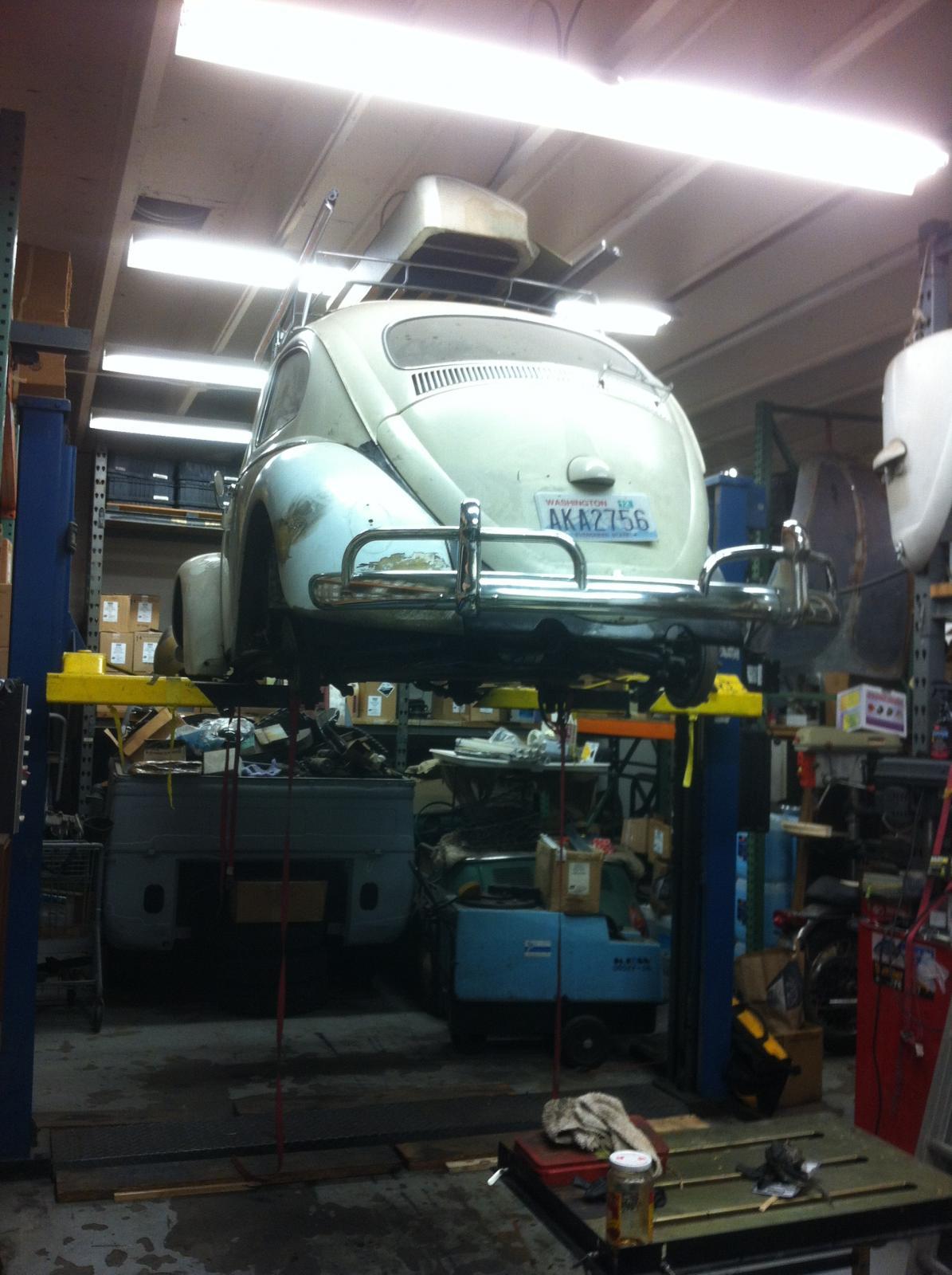 1961 rag top repair