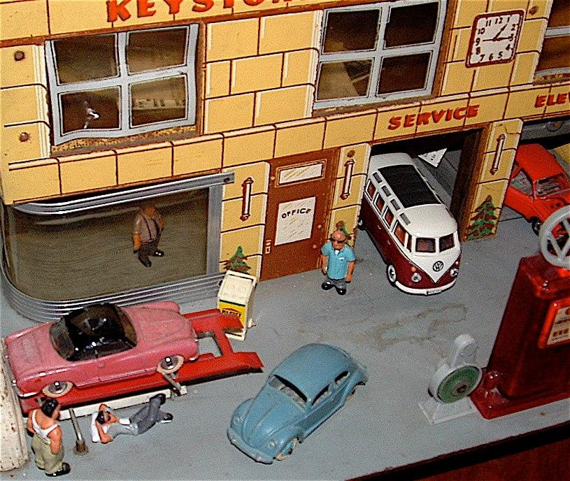 Toy Collection Dioramas