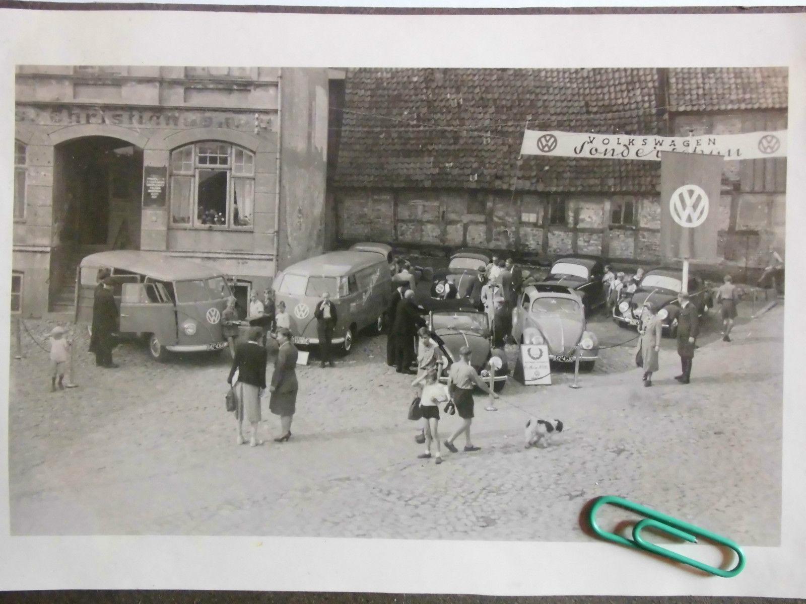 Volkswagen Sonderschau 1950