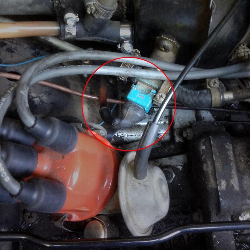 '82 air cooled cold start valve