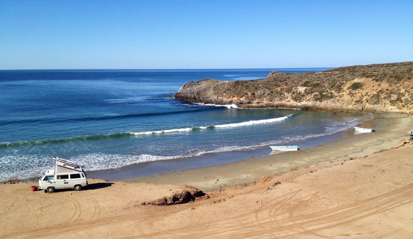 Camping down in Baja