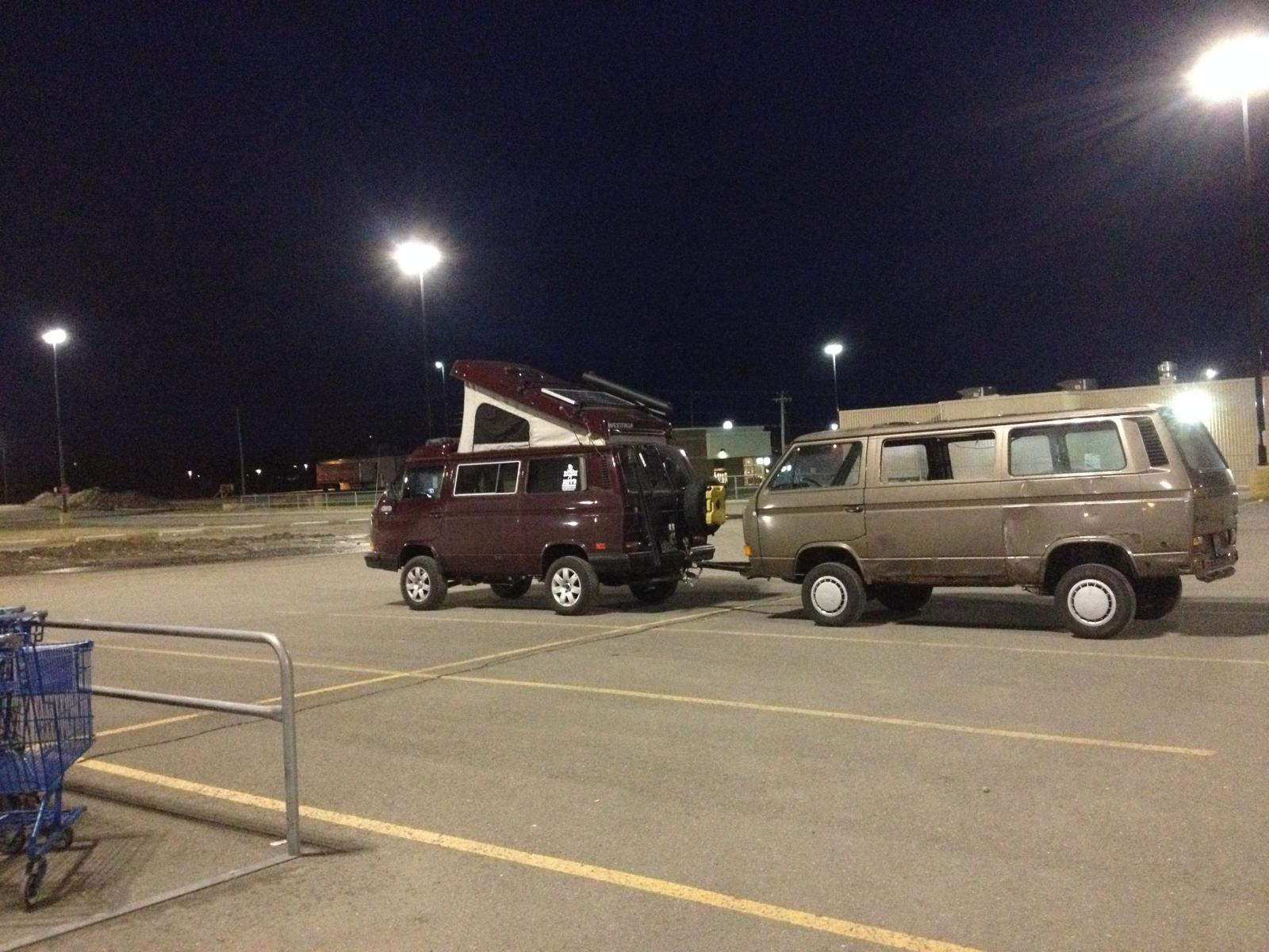 Towing with a Syncro