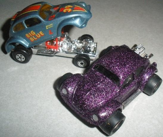 Old Matchbox And Tonka Vw Bug Toys