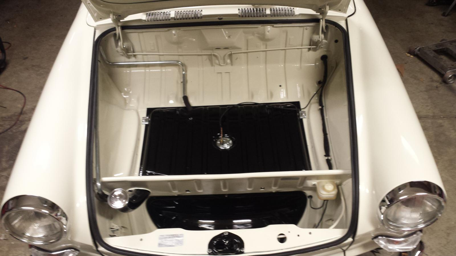 trunk detail and fresh coat of L87 and L41