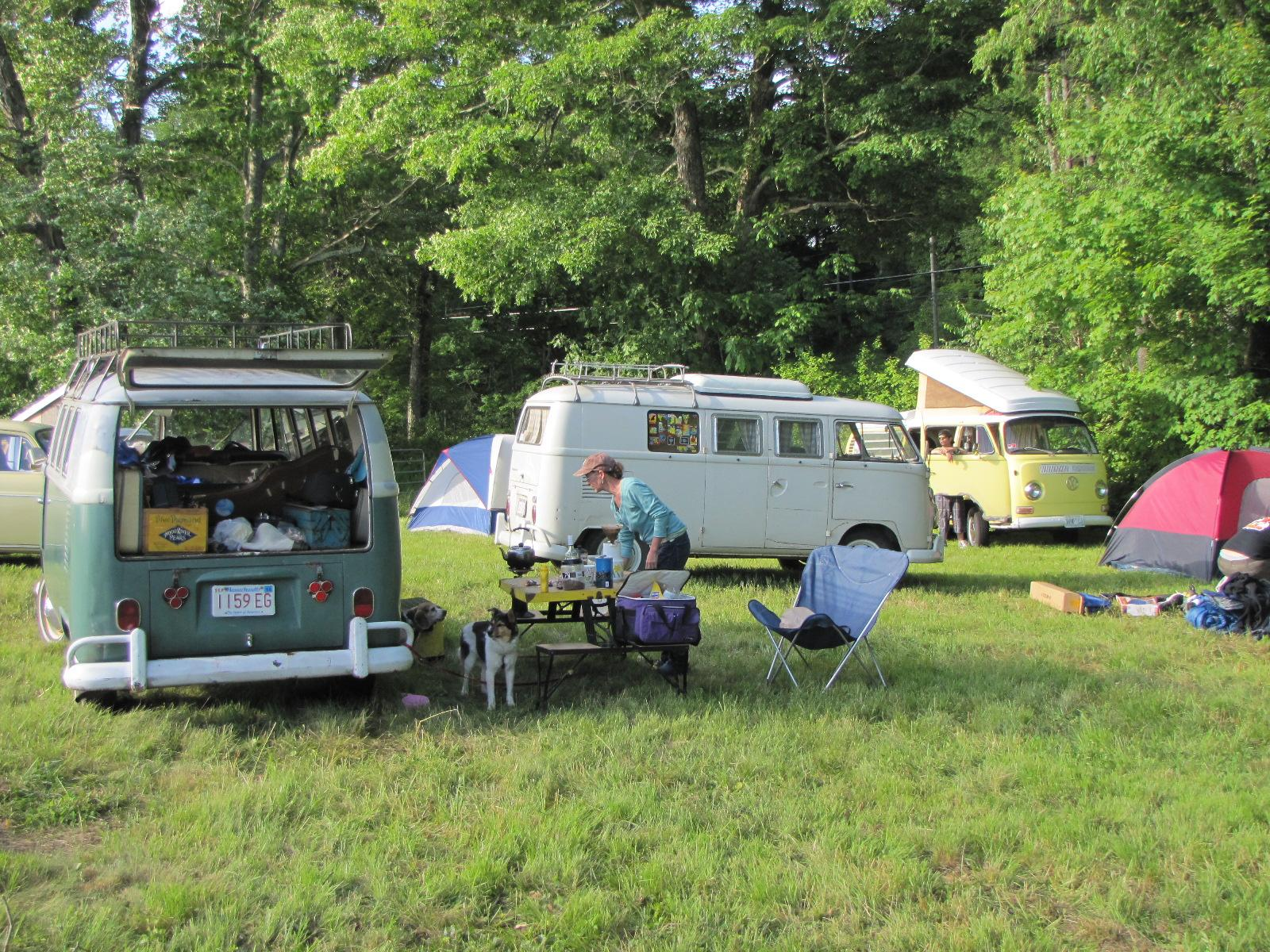 Litchfield camping