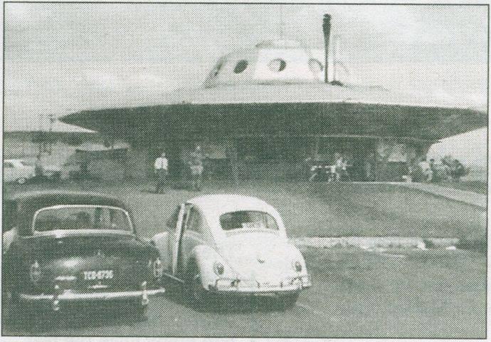 Flying Saucer Restaurant, Pretoria South Africa