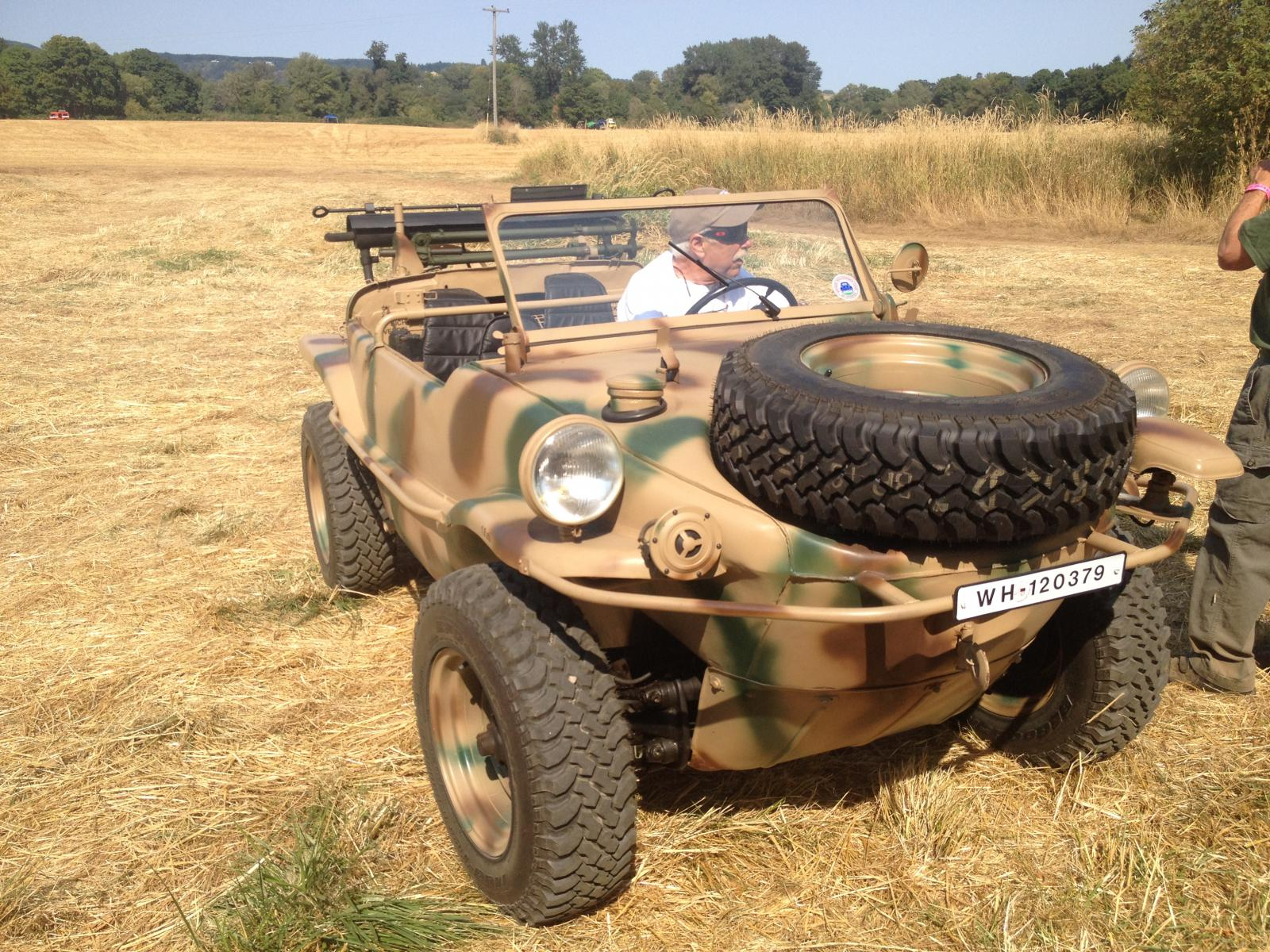 1943 Type 166 Schwimmenwagen-one of 22 in the USA?