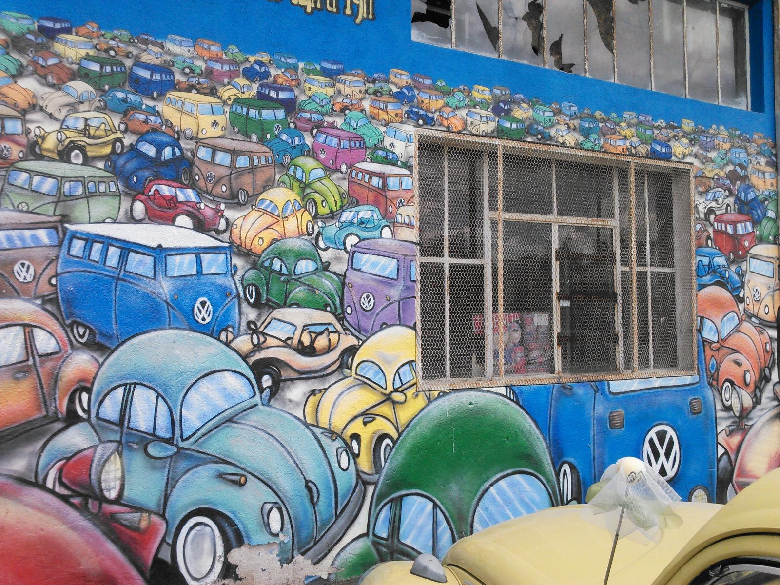 Teo's Z mural wall
