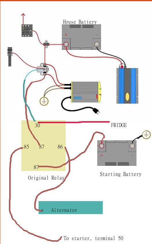1255349 thesamba com vanagon view topic promariner prosport promariner battery isolator wiring diagram at bayanpartner.co