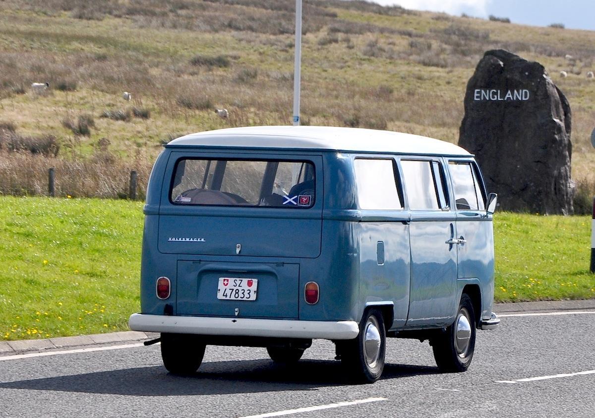 VW Bay van.
