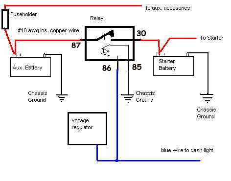 Thesamba com bay window bus view topic adding a second boat dual battery switch wiring diagram image may have been reduced in size click image to view fullscreen