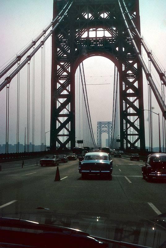 George Washington Bridge, 1964