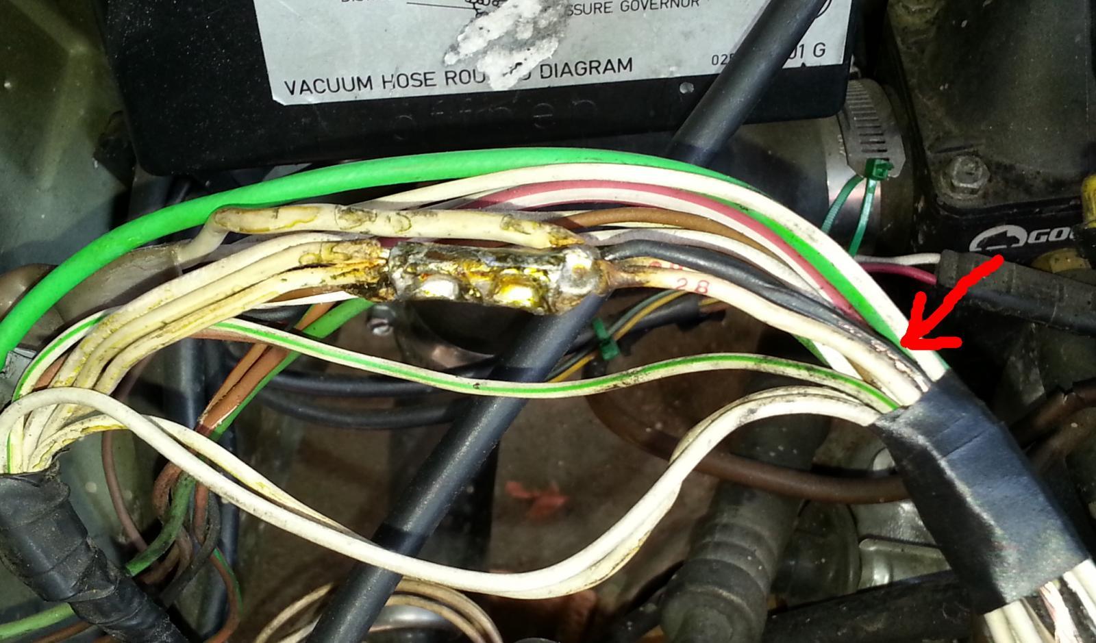 ECU Harness fried wires