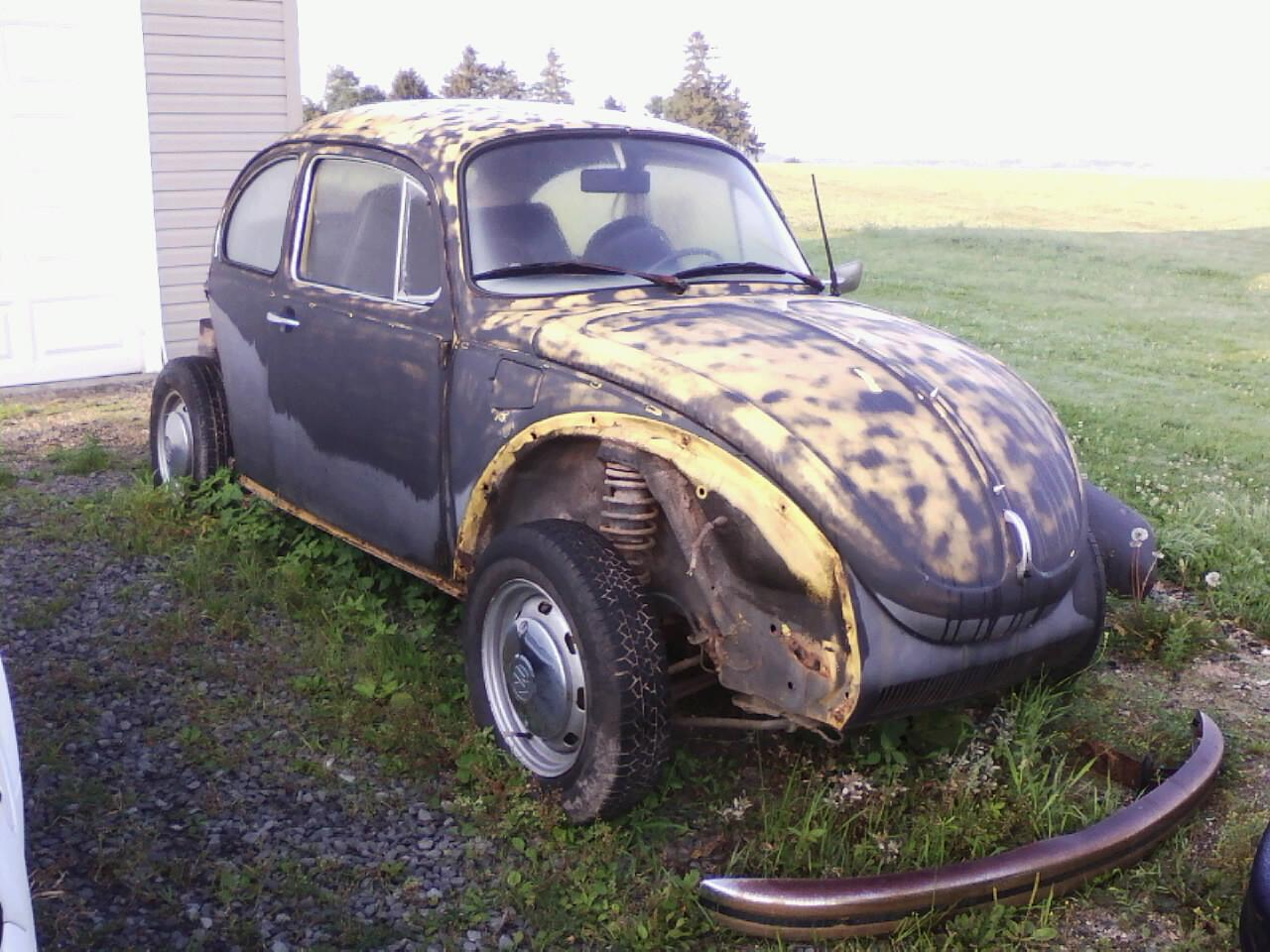 Thesamba Com Other Vw Vehicles Volksrods View Topic My 73 Dually Rat Rod Beetle Death Trap Build