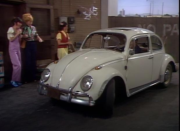 Mel's Beetle from Alice TV Show episode Car Wars